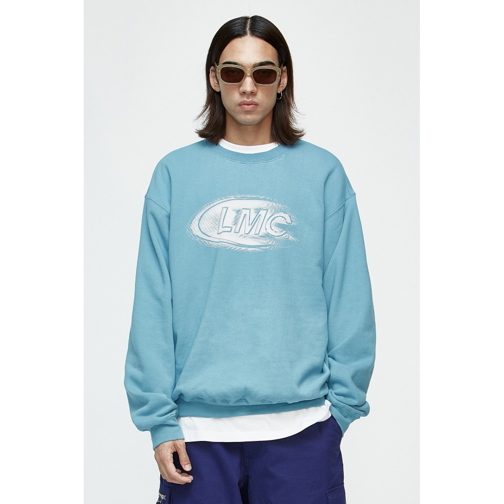 LMC SHINING CO SWEATSHIRT sky blue
