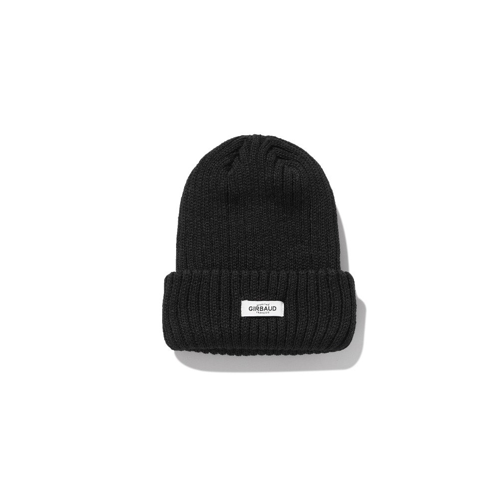 MFG ICONIC LABEL BEANIE black