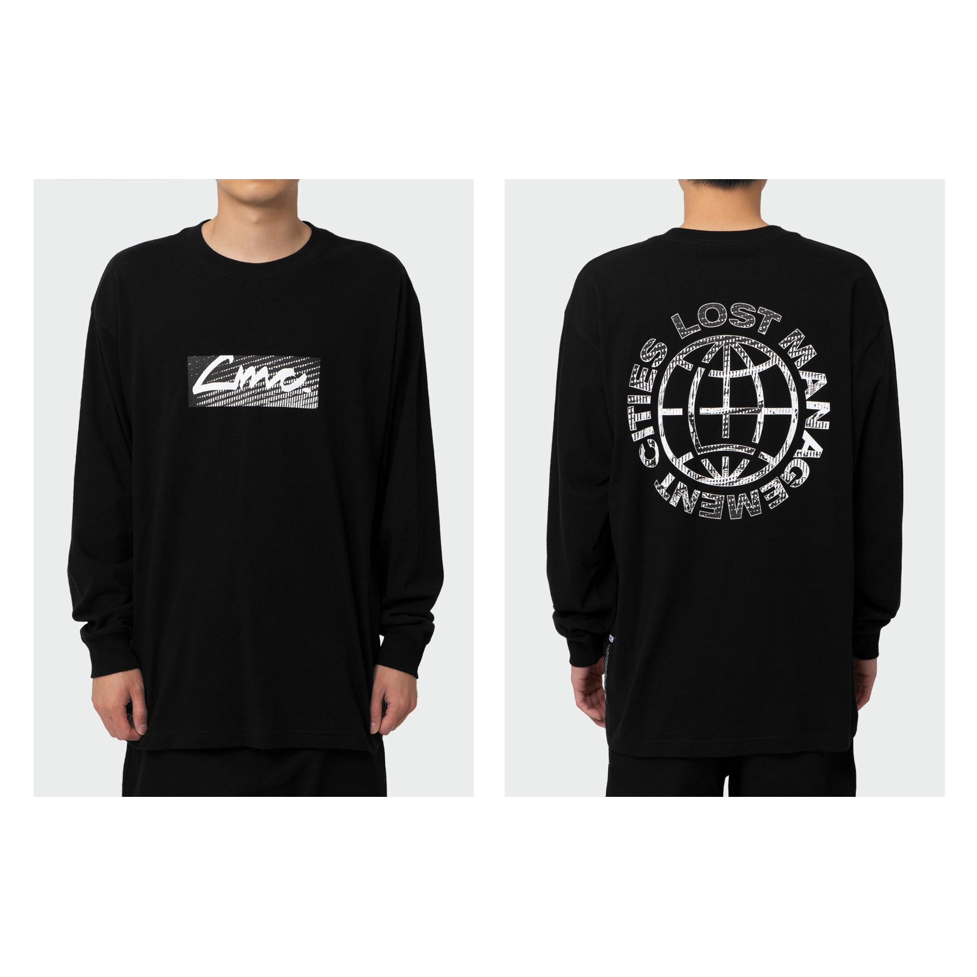 LMC D-NOISE LONG SLV TEE black
