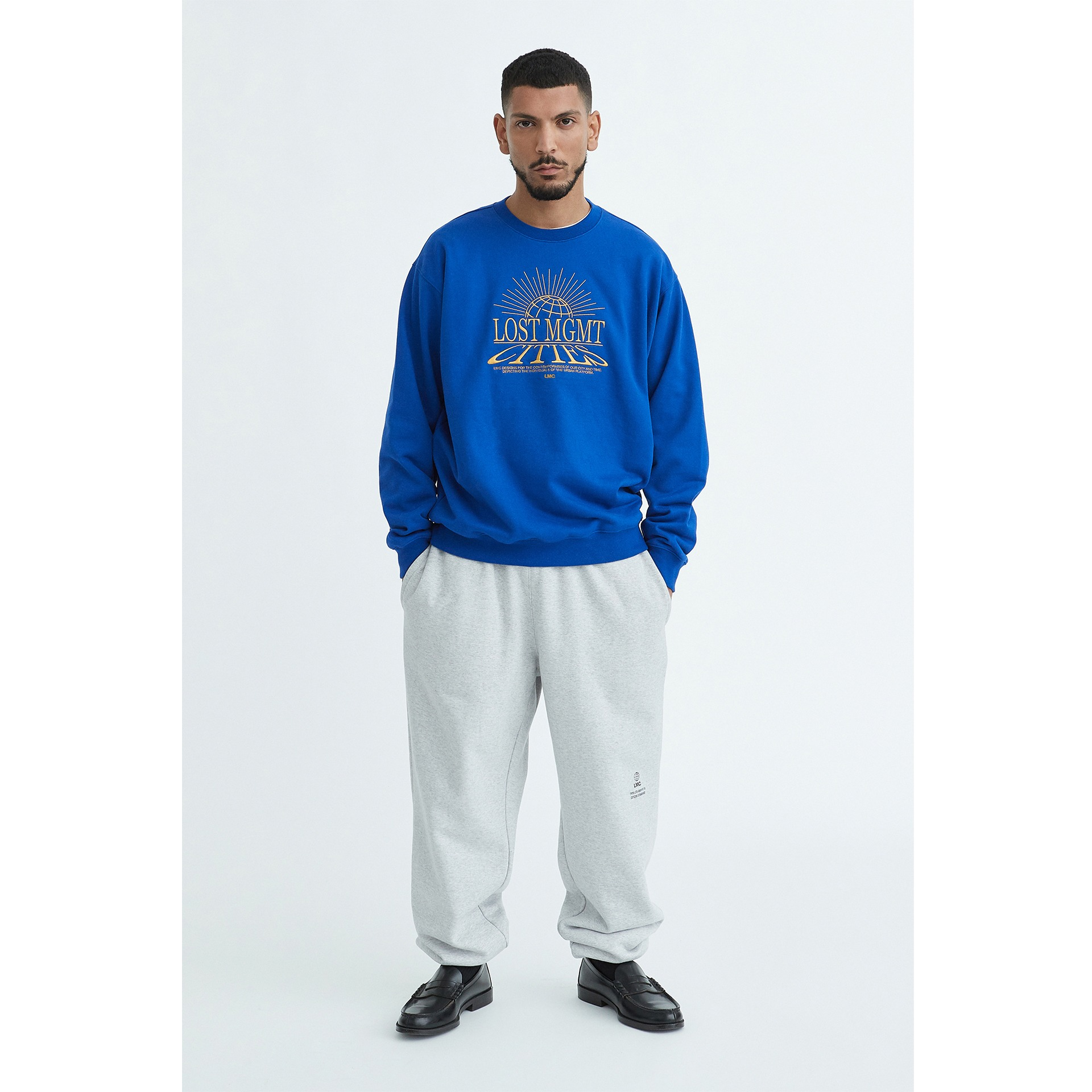 LMC GLOWING GLOBE SWEATSHIRT royal blue