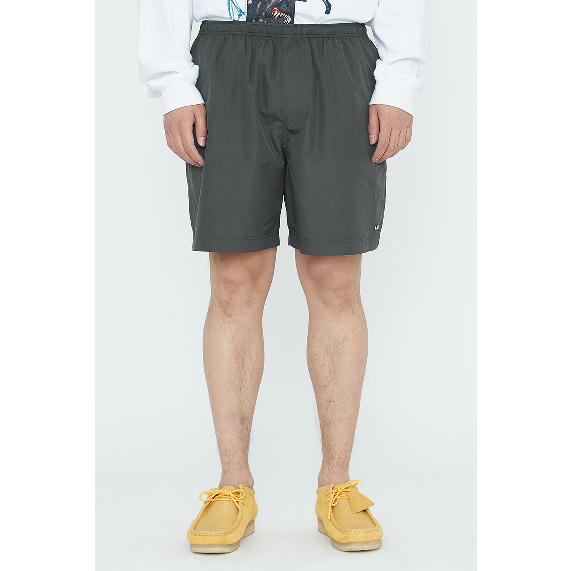 LMC IDEAL TRACK SHORTS gray