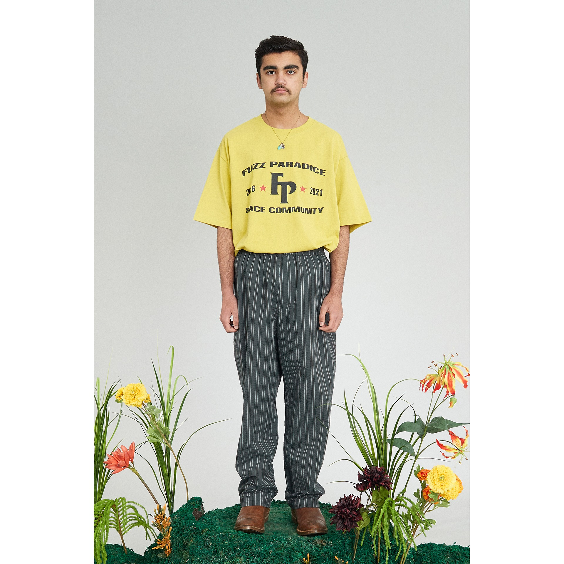 FUZZ CHAMPION S/S TEE lemon