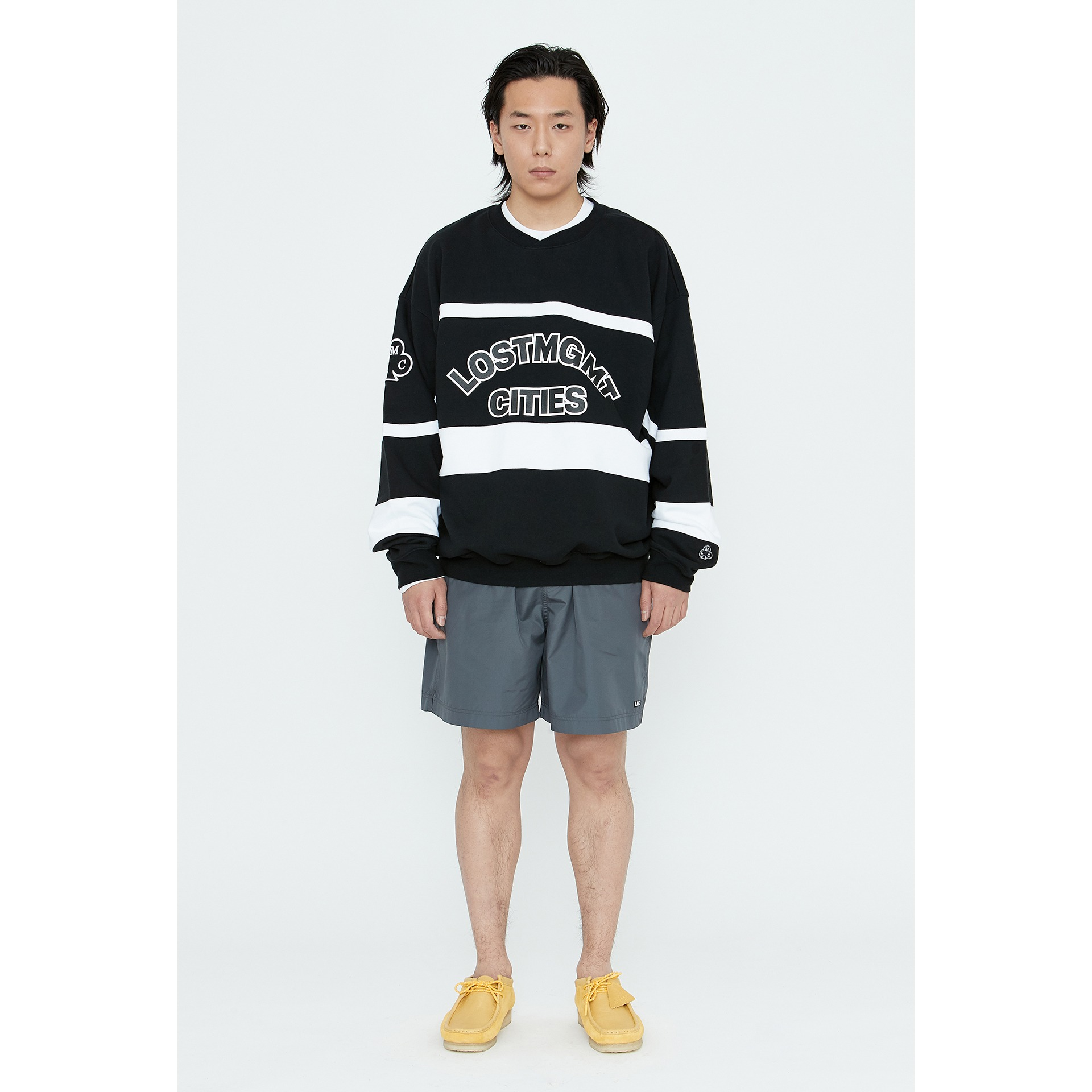 LMC HOCKEY OVERSIZED SWEATSHIRT black