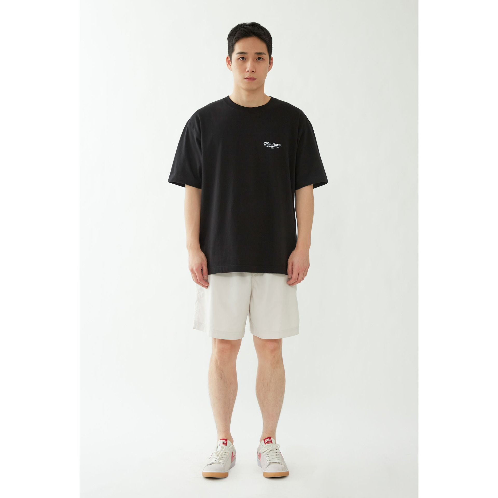 LMC TEAM EARTH ORGANIC TEE black