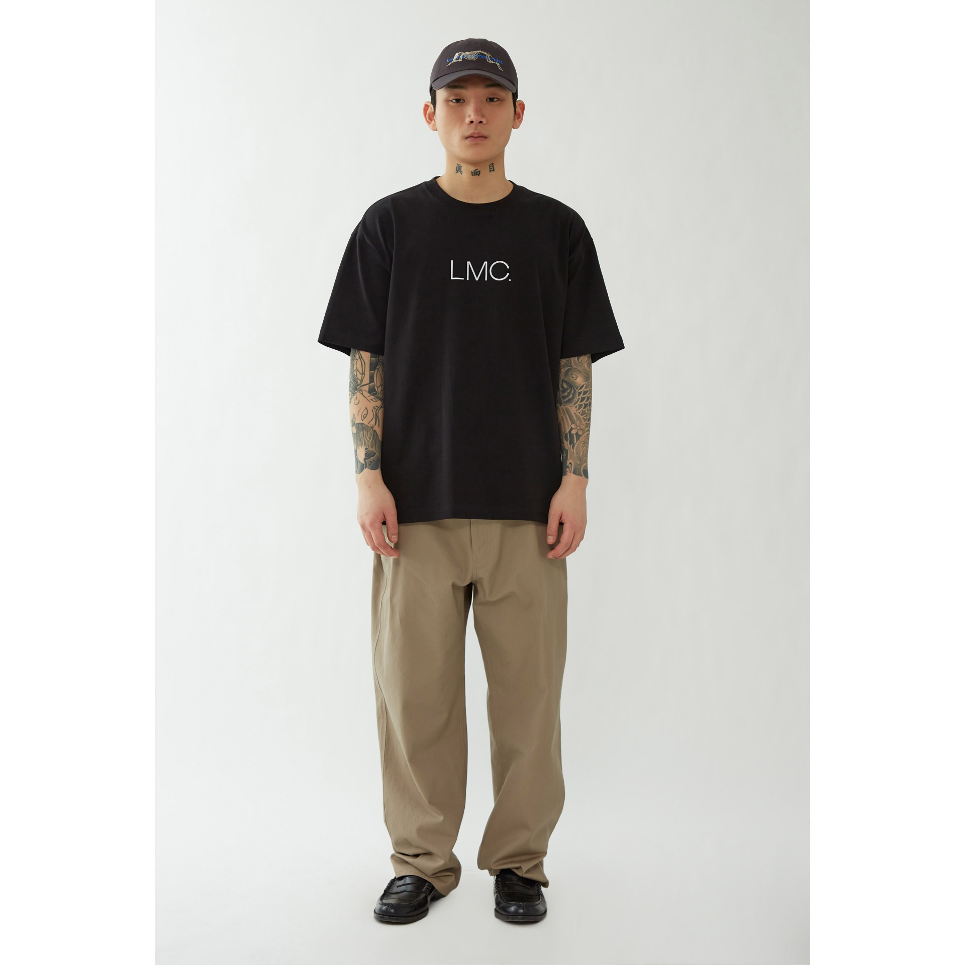 LMC THIN LOGO TEE black