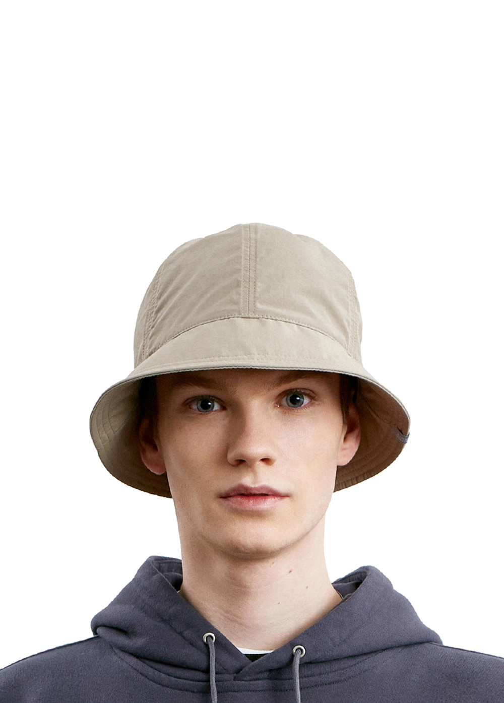COMFORT 6 PANEL BUCKET HAT beige