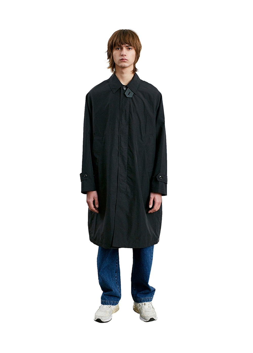 COMFORT SOUTIEN COLLAR COAT black