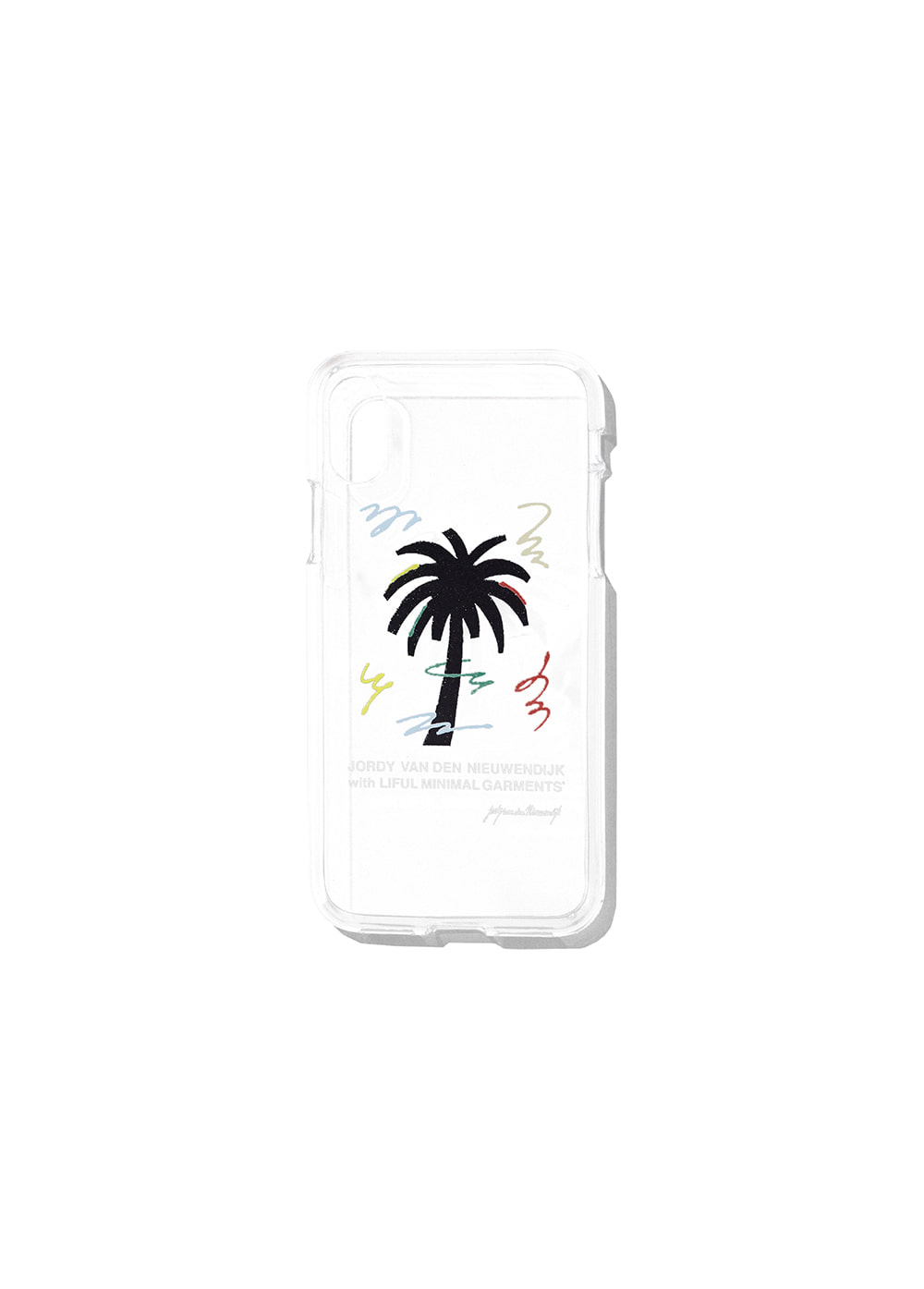 LIFUL x JORDY PALMTREE IPHONE X JELL CASE