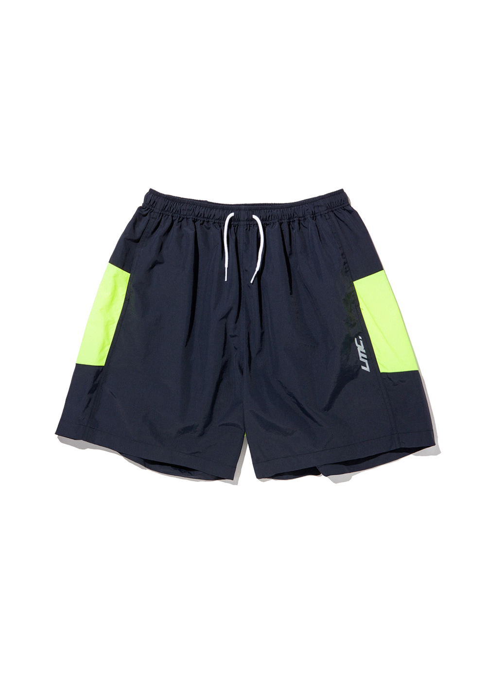 LMC ZIPPER LEF TRACK SUIT SHORTS navy