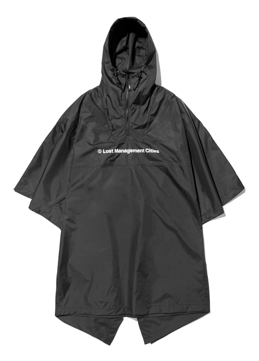 LMC SPACE 2.5 LAYER WATER PROOF PONCHO black