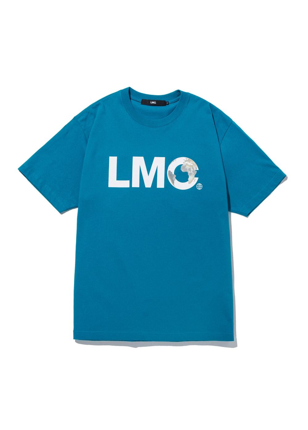 LMC EARTH LOGO TEE teal