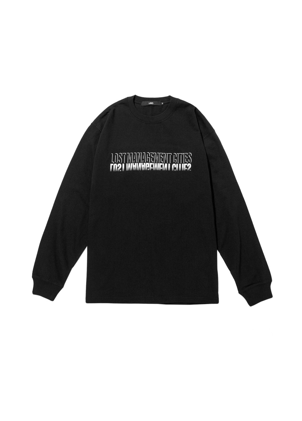 LMC SHADOW FN LONG SLV TEE black