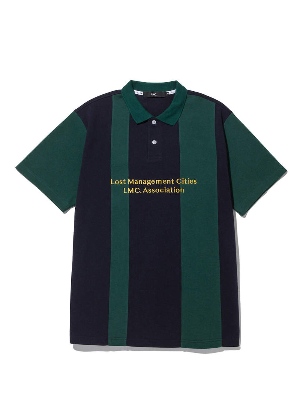 LMC DIVIDED PK POLO SHIRT green