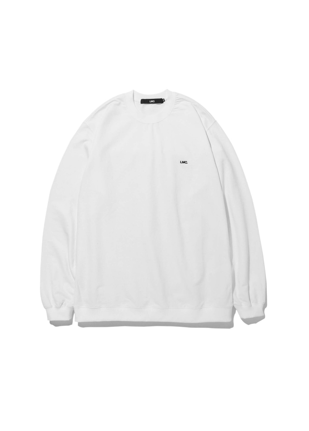 LMC STRAIGHT RIB SWEAT TEE white