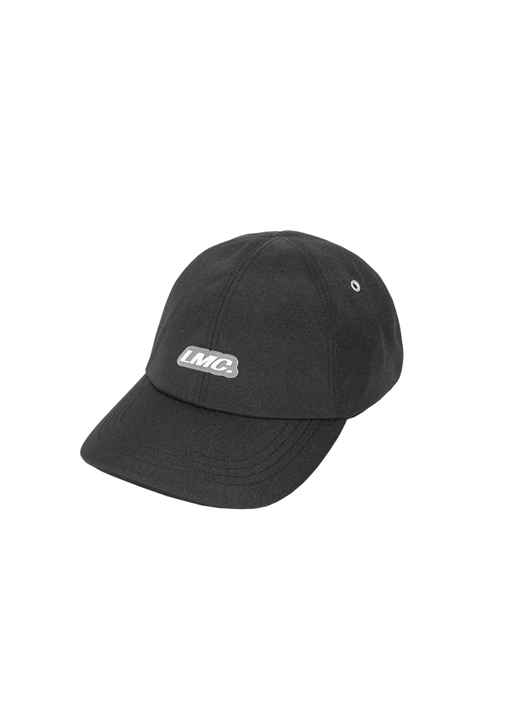 LMC ITALIC POLY 6 PANEL CAP black