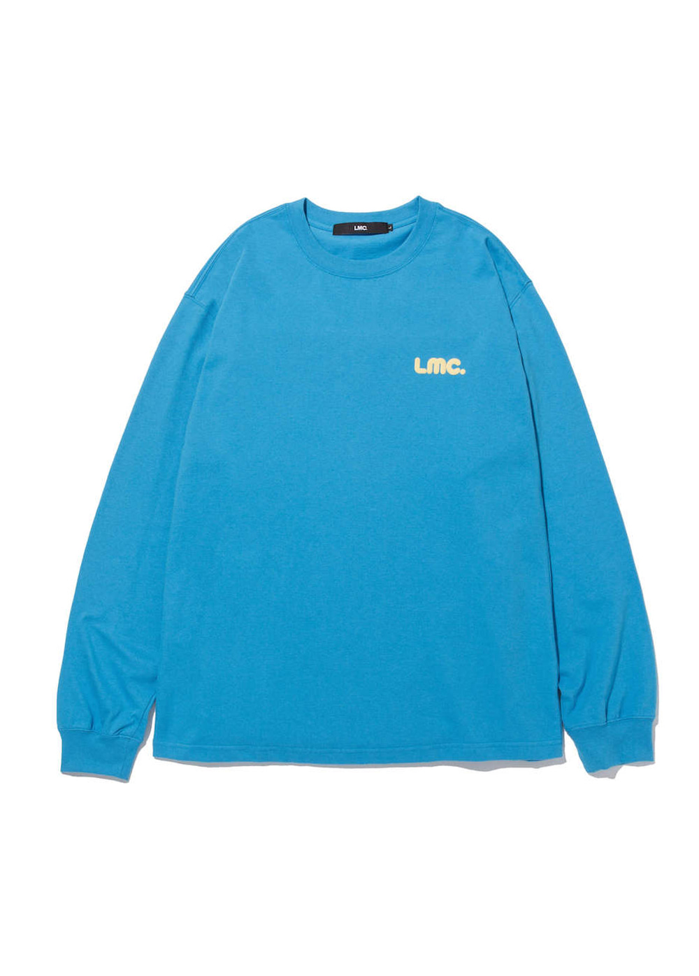 LMC BUBBLE LONG SLV TEE sky blue