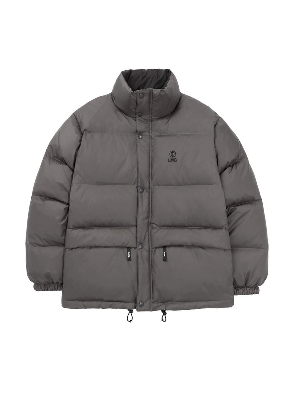LMC REVERSIBLE DOWN PARKA gray