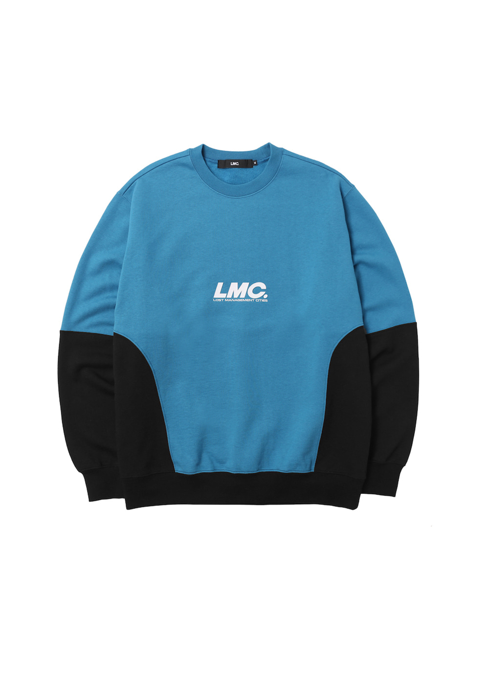 LMC HD SPLIT SWEATSHIRT vtg blue