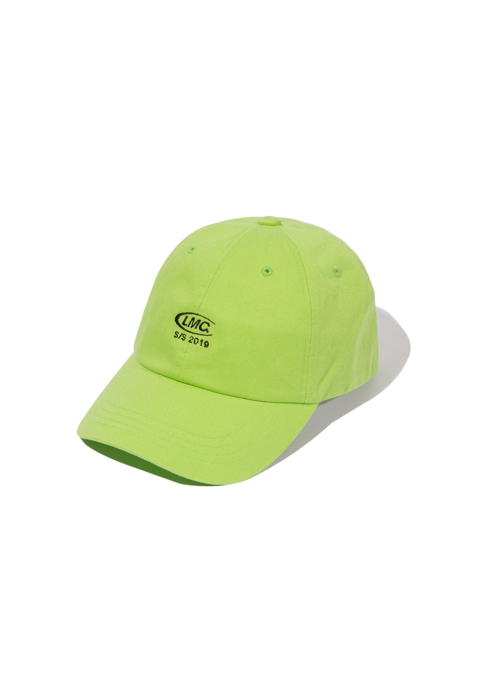 LMC CO LOGO 6 PANEL CAP lime