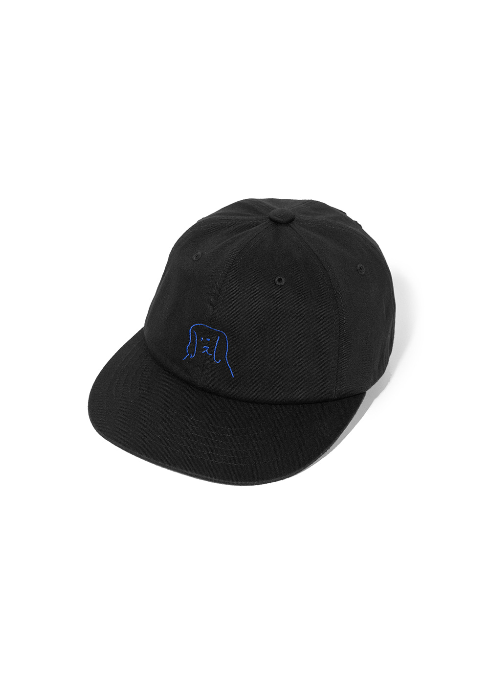 LIFUL x PUPPY RADIO PUPPY CAP black
