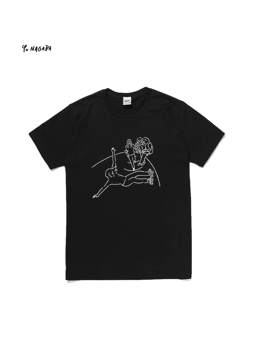 YU NAGABA - DOGTOWN T-SHIRT black