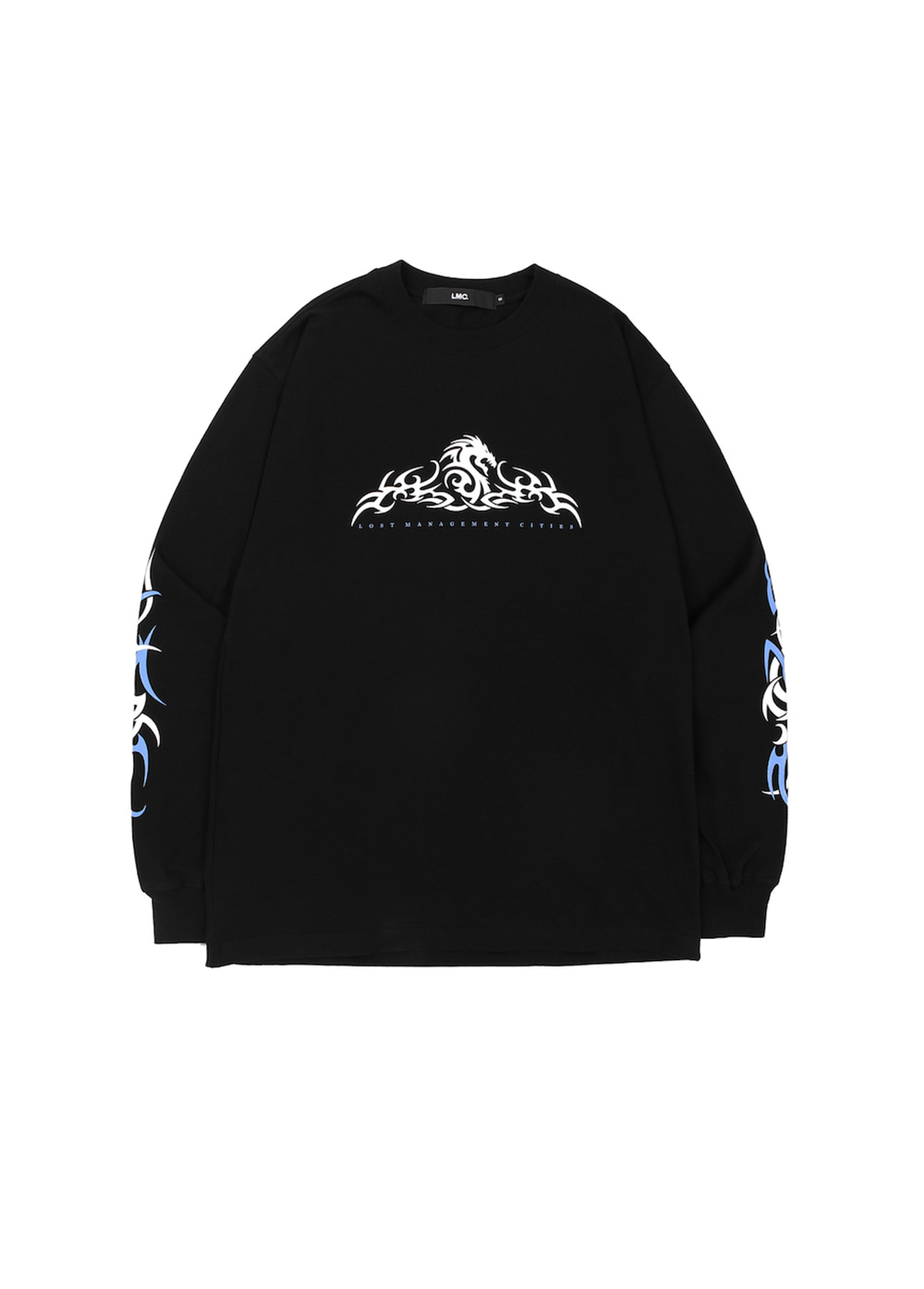LMC TRIBAL LONG SLV TEE black