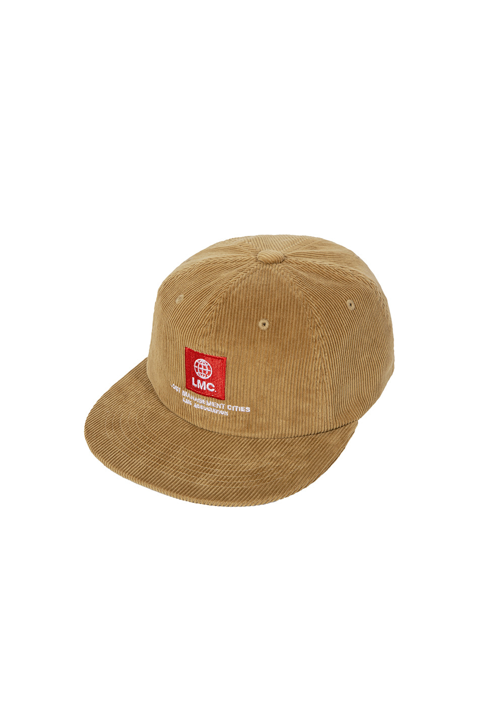 LMC GLOBE CORDUROY SKATER CAP yellow brown