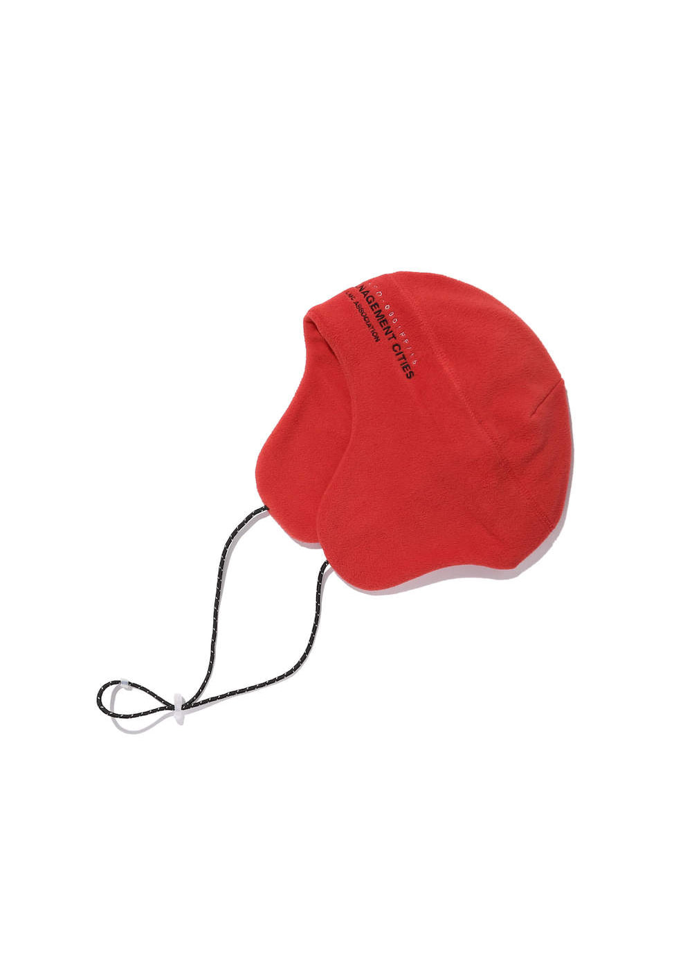 LMC FLEECE EARFLAP BEANIE red