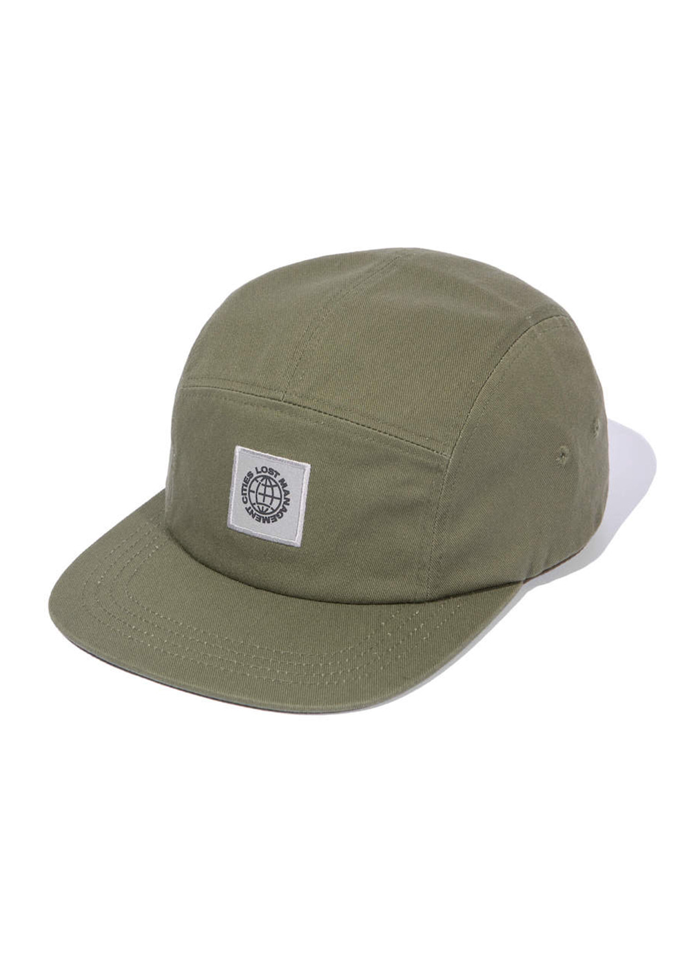 LMC RFLCTV PATCH CAMP CAP olive
