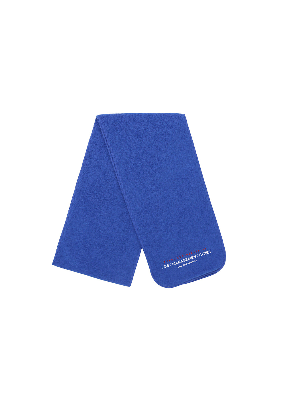LMC FLEECE MUFFLER royal blue