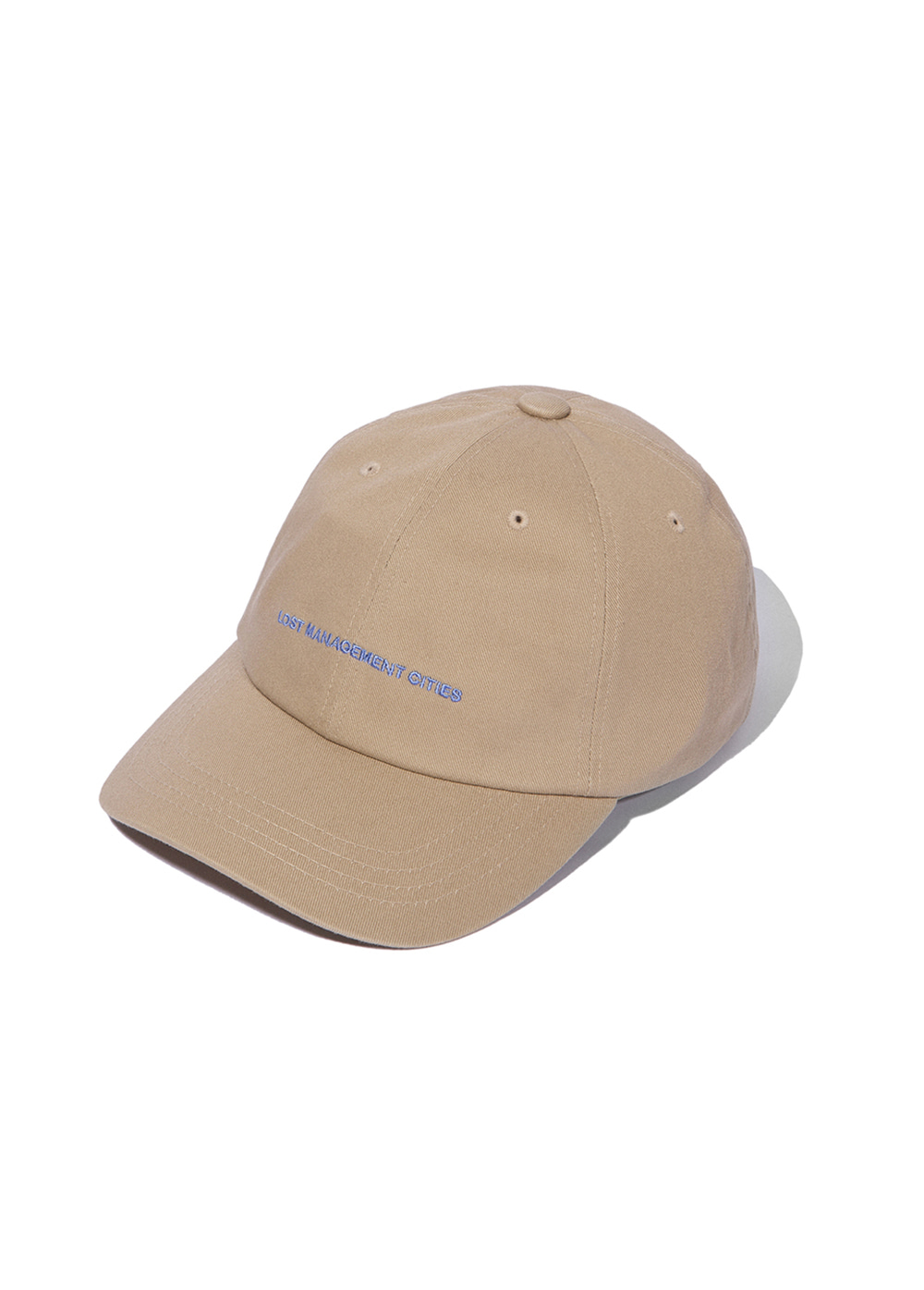 LMC CAPITAL LOGO 6 PANEL CAP beige