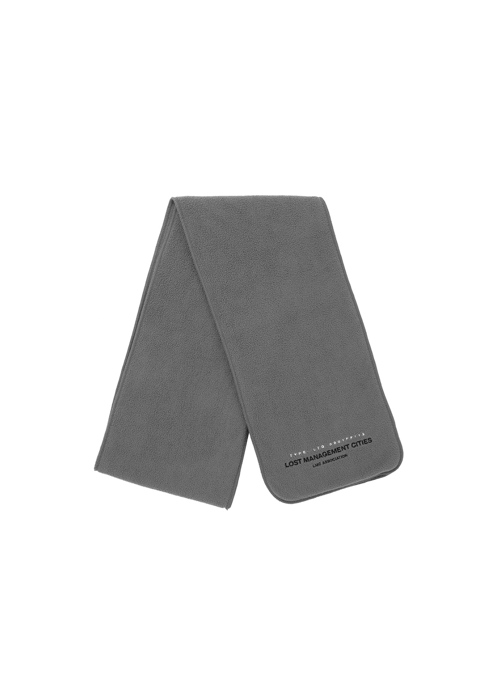 LMC FLEECE MUFFLER gray