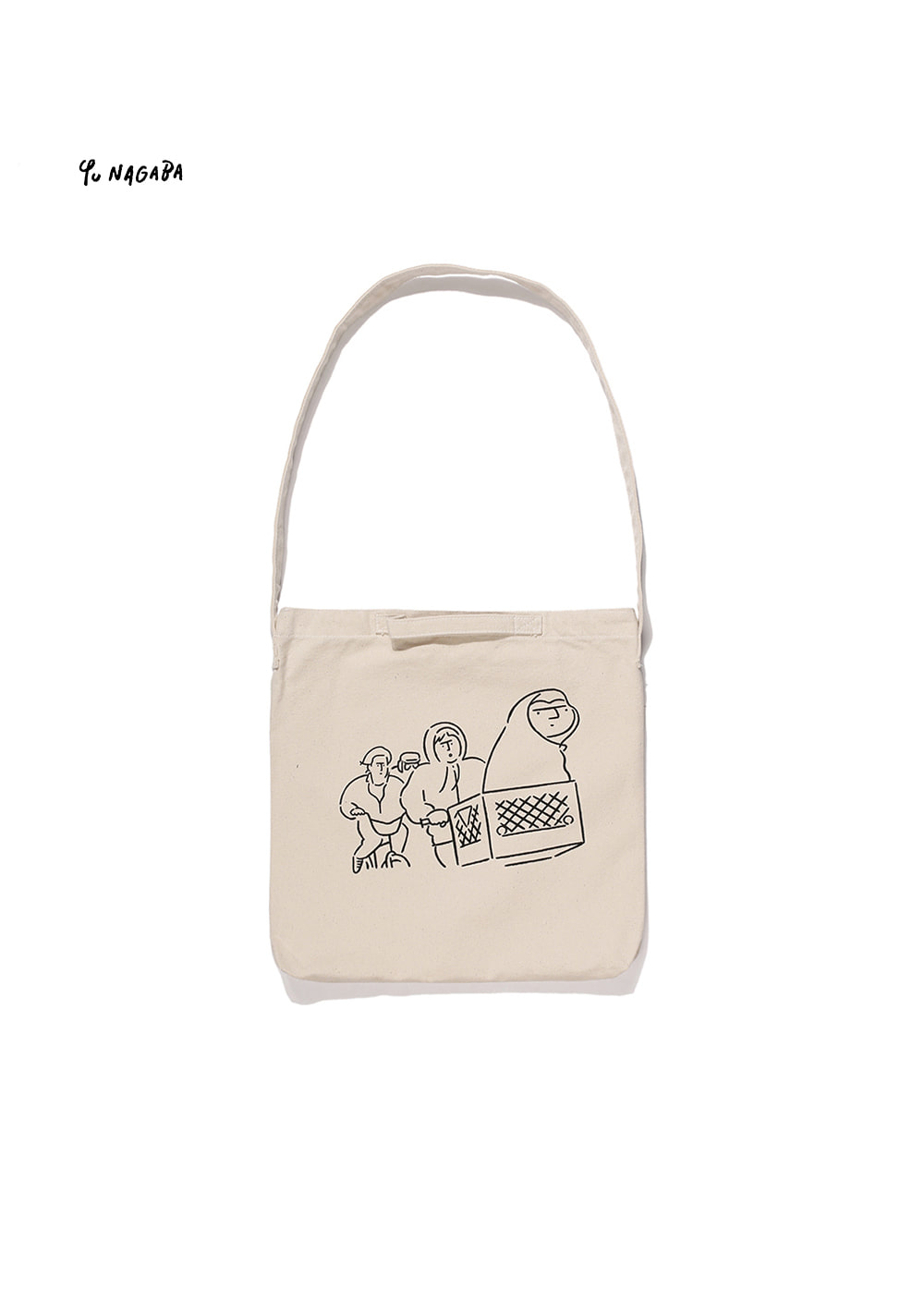 YU NAGABA - E.T TWO-WAY BAG neutral beige
