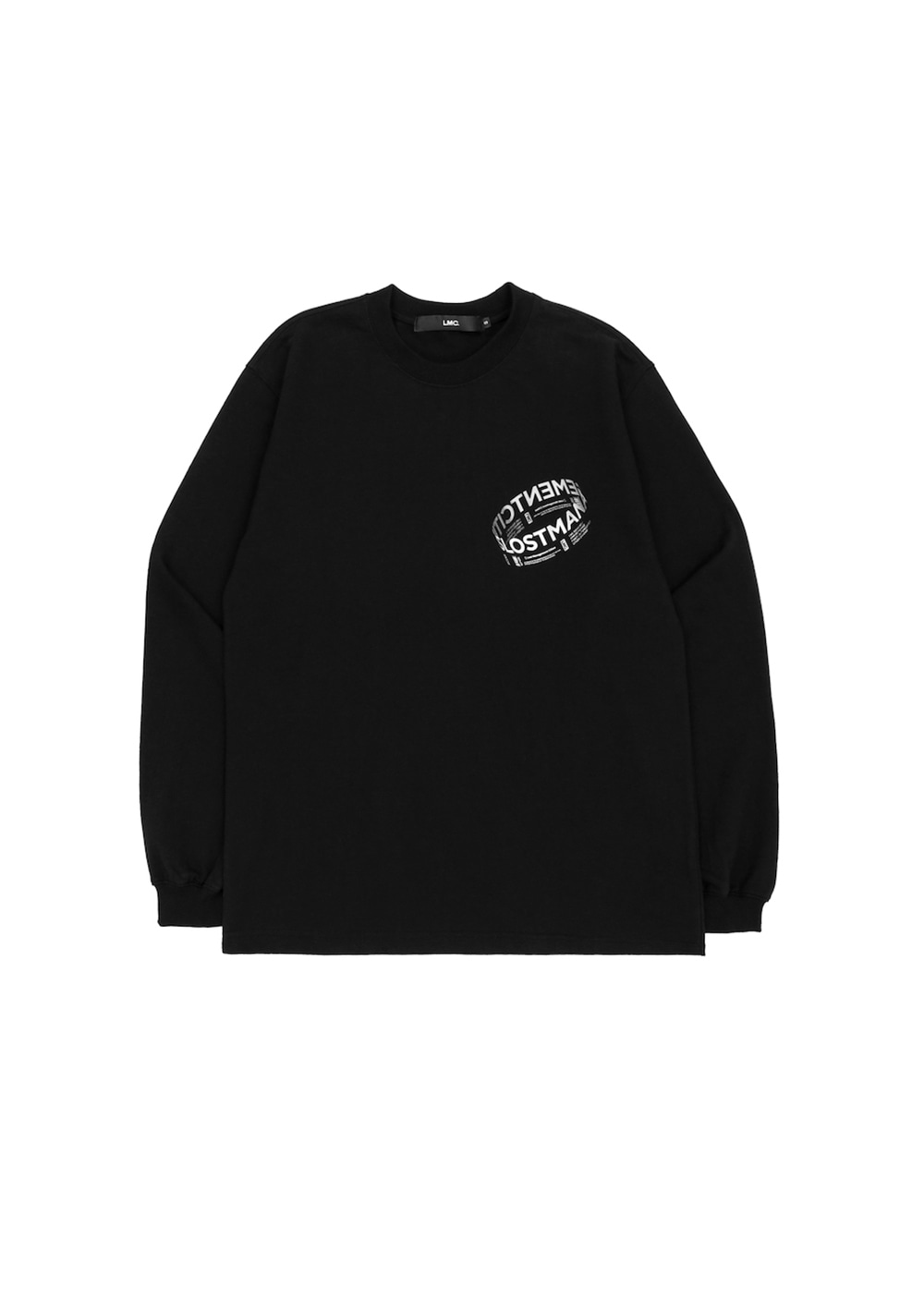 LMC RING LOGO LSV SWEAT TEE black