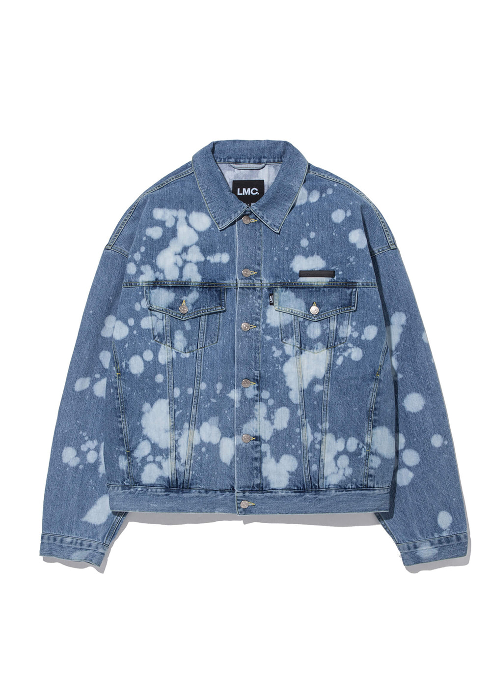 LMC RP DENIM BLEACHED TRUCKER JACKET blue