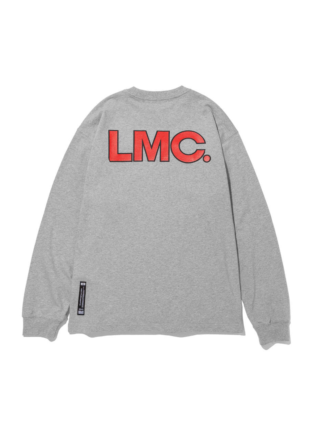 LMC EDGE LONG SLV TEE heather gray
