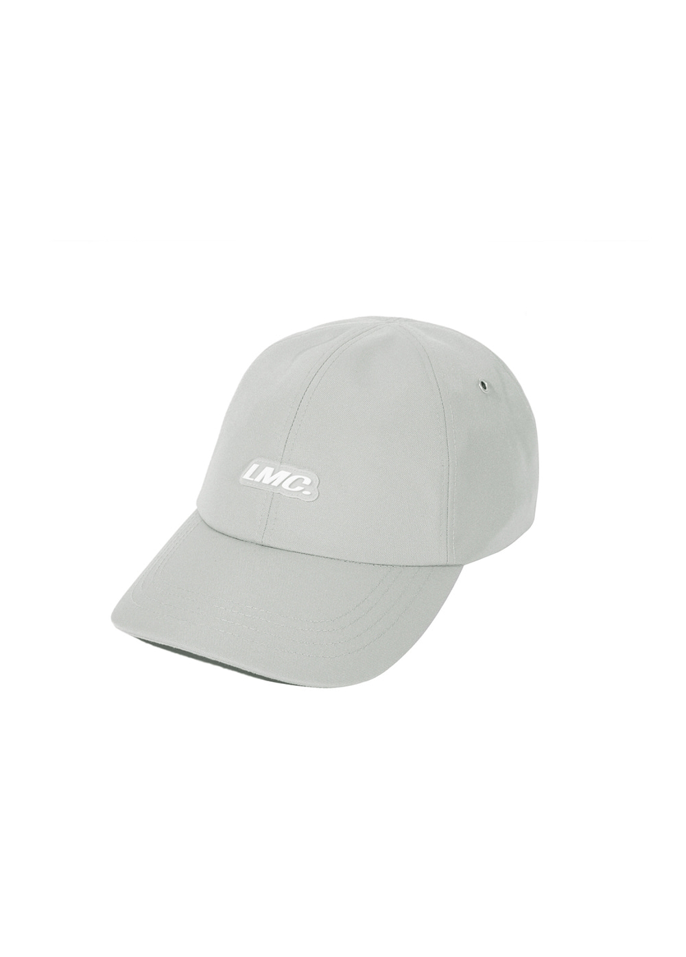 LMC ITALIC POLY 6 PANEL CAP lt. gray