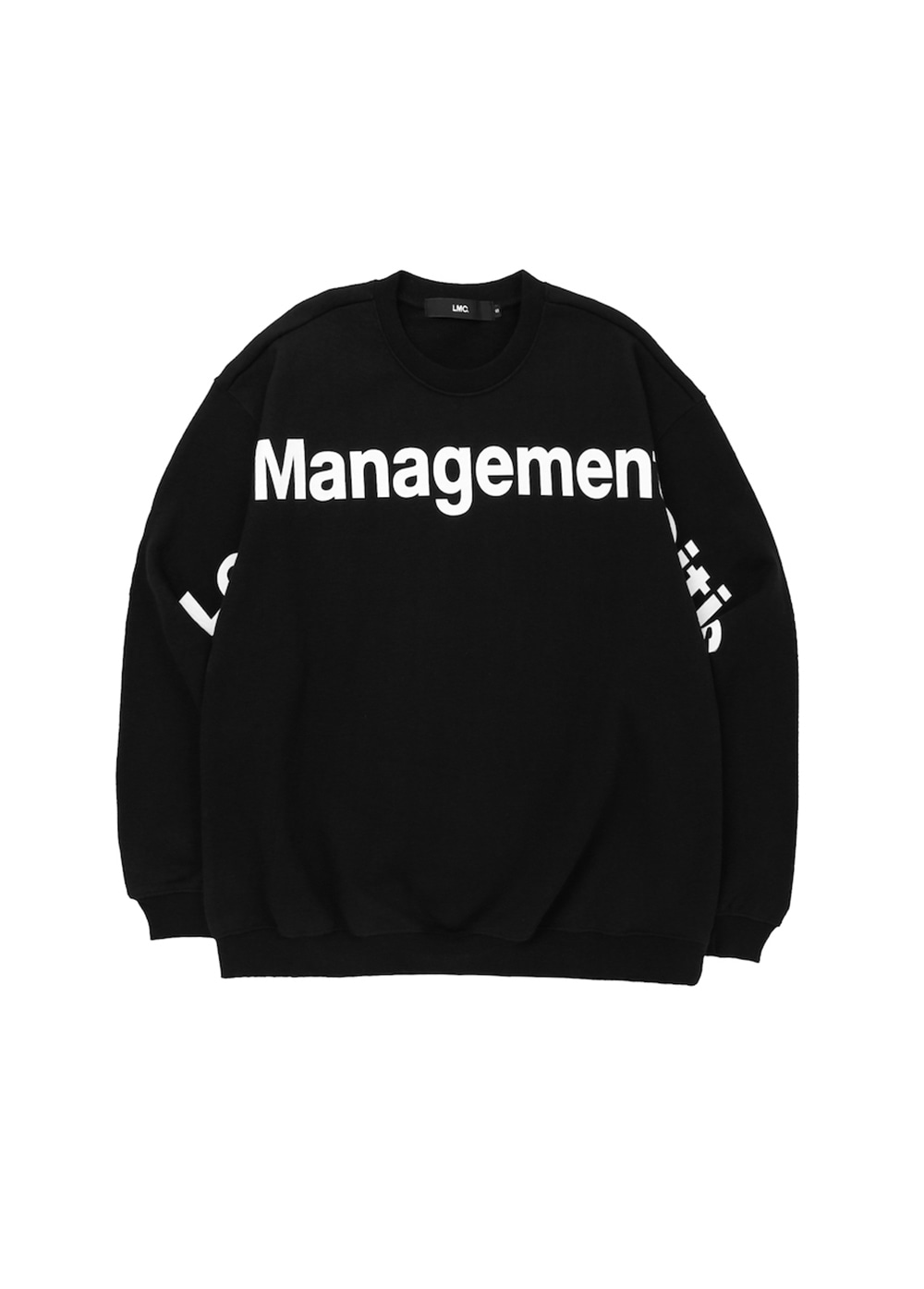LMC FN LOGO OVERSIZED SWEATSHIRT black