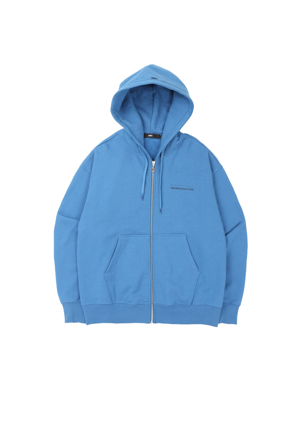 LMC FN BAR LOGO ZIP-UP HOODIE vtg blue