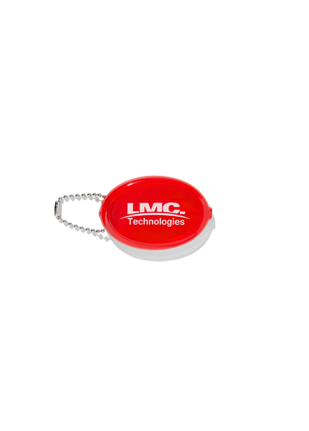 LMC RUBBER COIN PURSE red