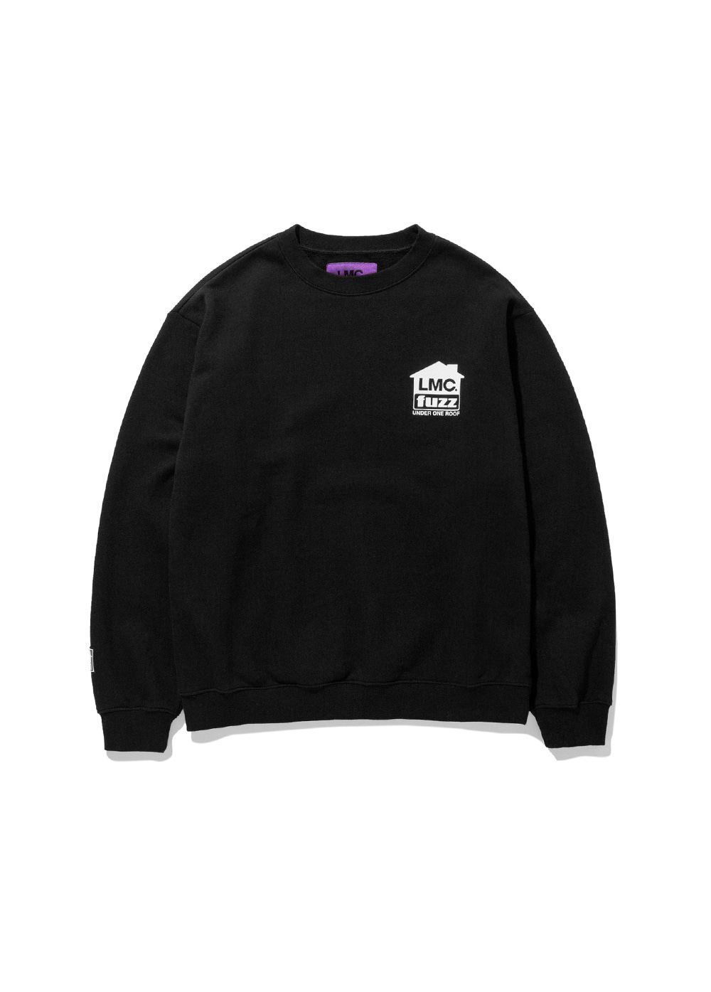 LMC x FUZZ HOUSE SWEATSHIRT black