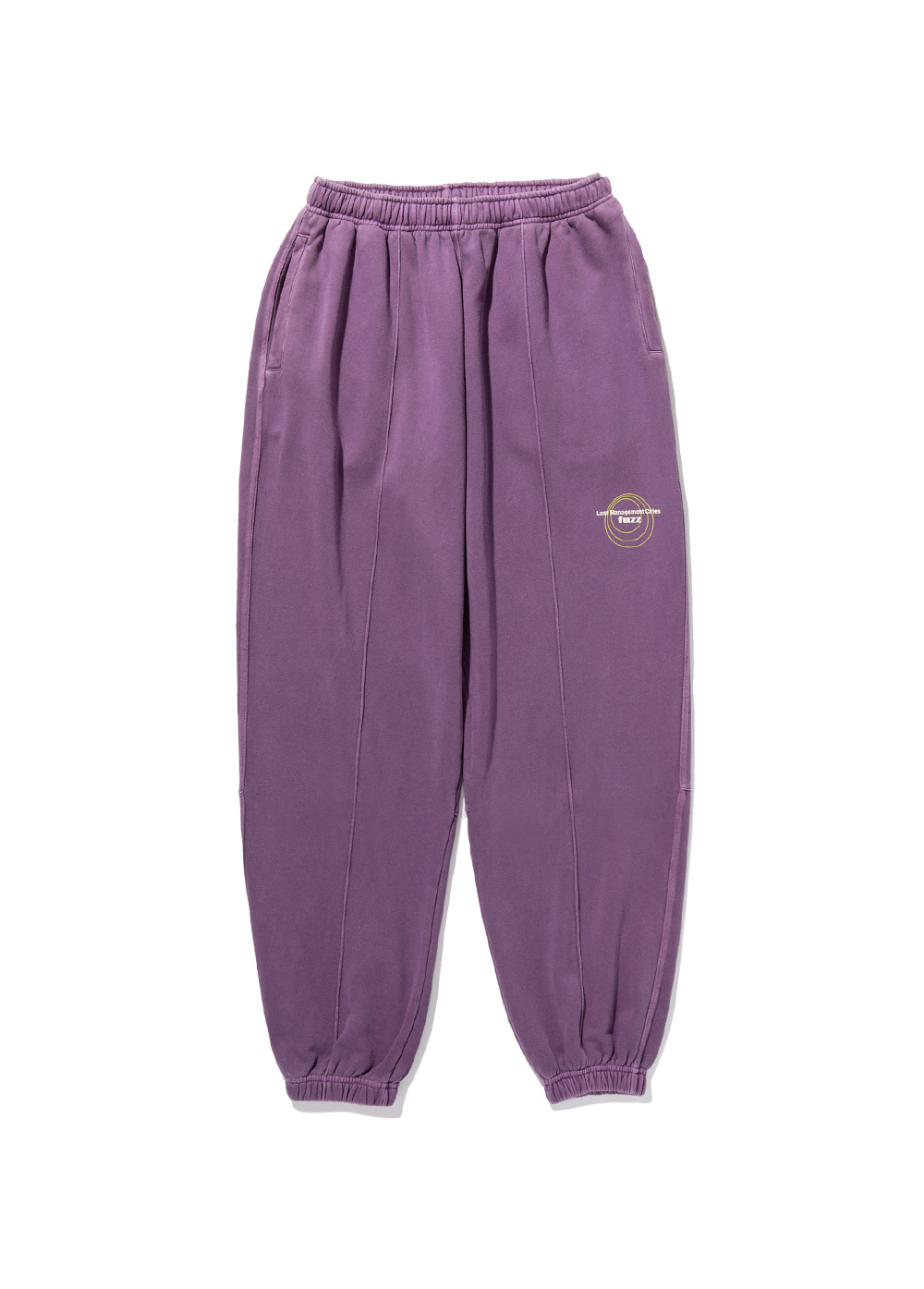 LMC x FUZZ CIRCLE SWEAT PANTS purple