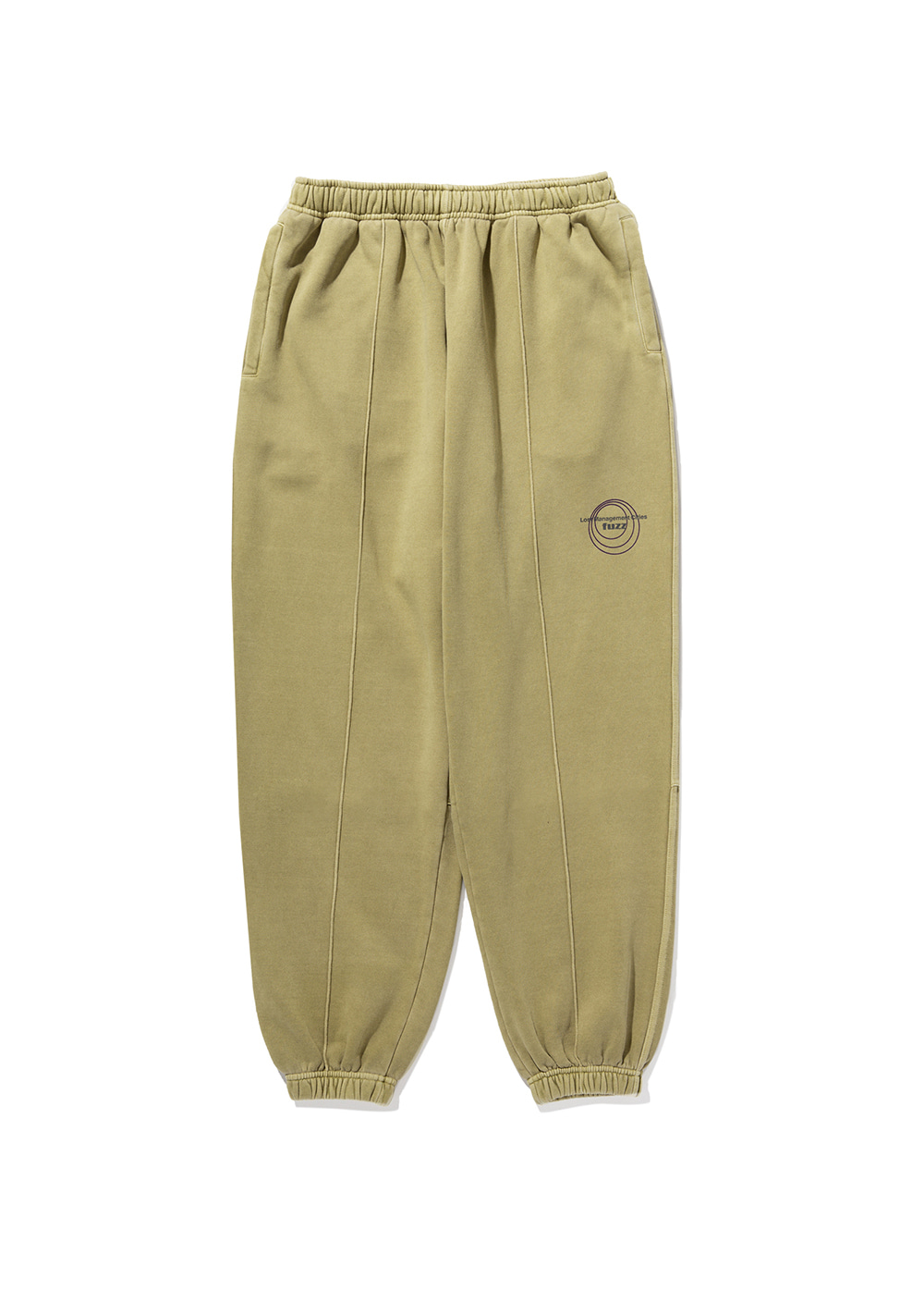LMC x FUZZ CIRCLE SWEAT PANTS olive