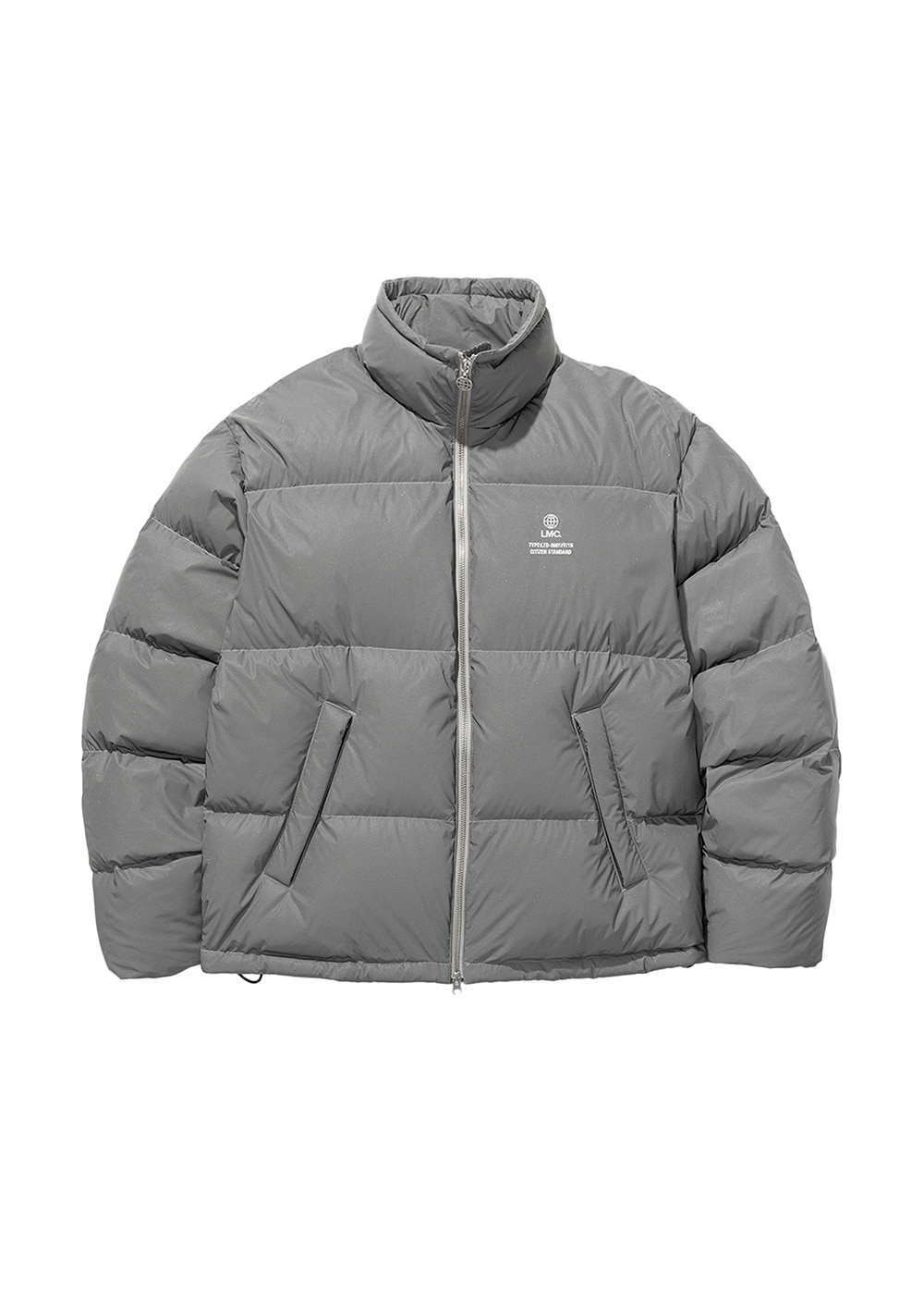LMC GLOBE SHORT DOWN PARKA reflective
