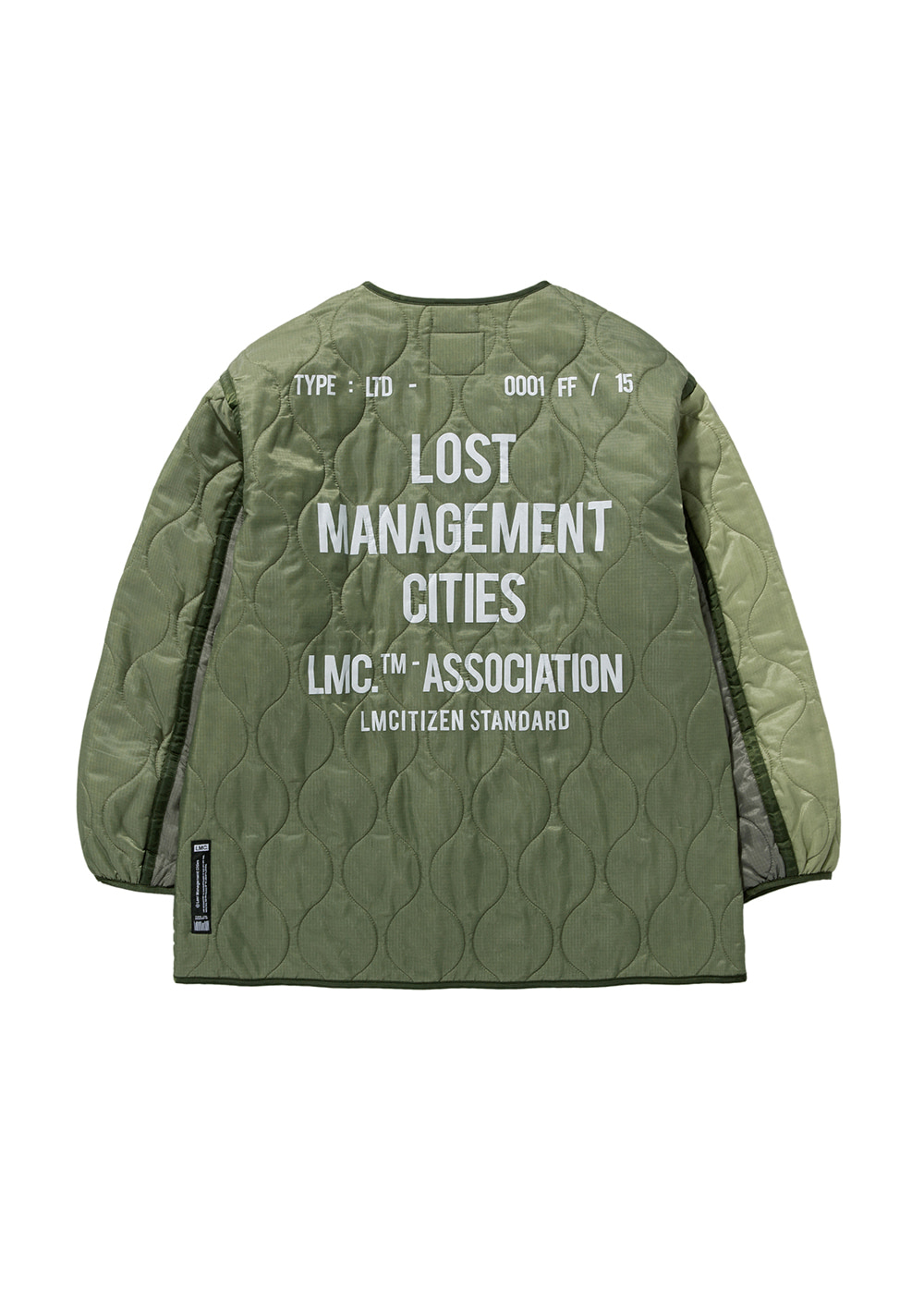 LMC QUILTED LINING JACKET olive