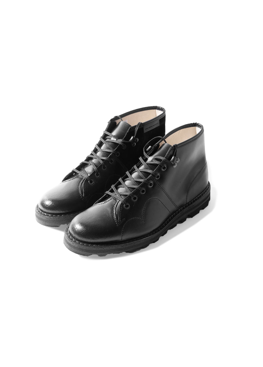 LIFUL x REPRODUCTION OF FOUND CZECHO SLOVAKIA MILITARY BOOTS black