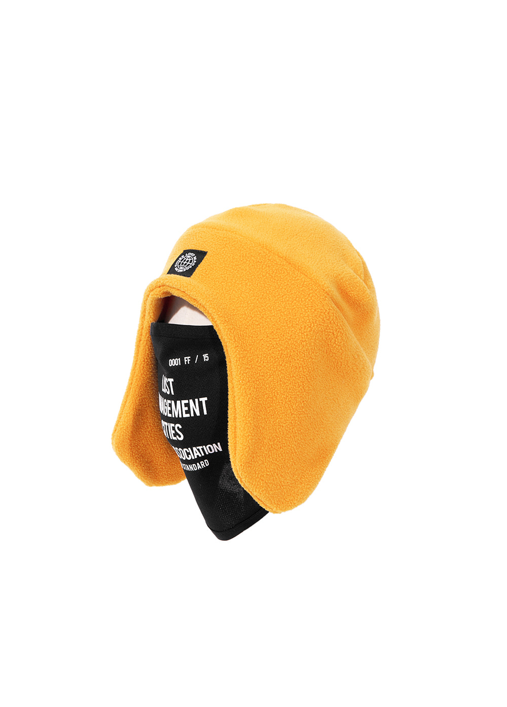 LMC MASK FLEECE EARFLAP BEANIE yellow