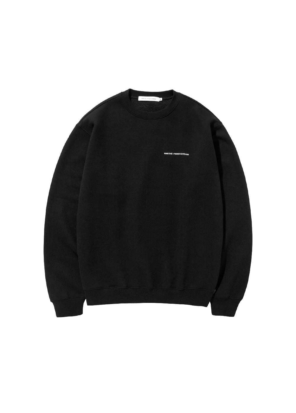 MFG NAME LOGO SWEATSHIRT black