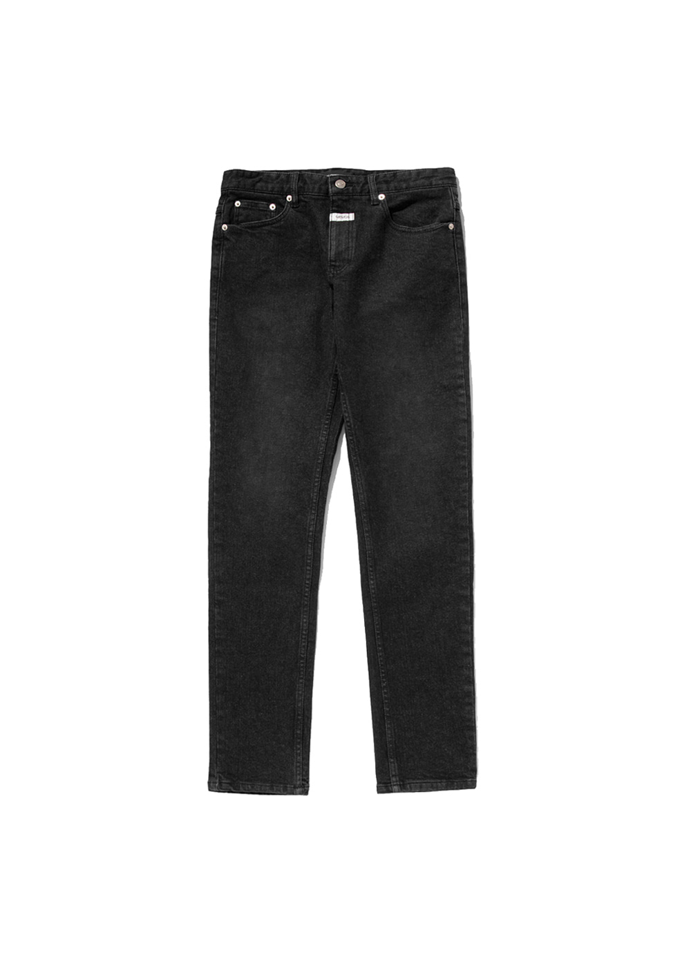 MFG ROLL POCKET JEANS (MEN) stone black