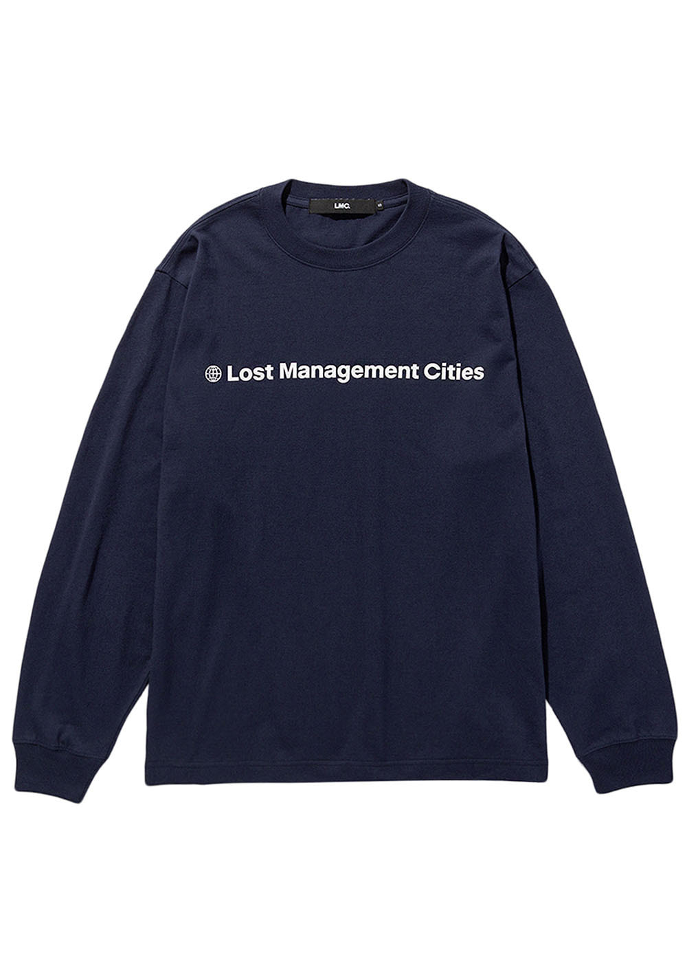 LMC FN OG LONG SLV TEE navy